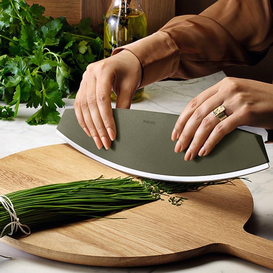 Green Tool Pizza-/Kräutermesser